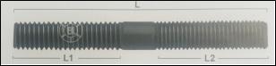 ESPARRAGO FLECHA M10X1.25 X 70MM